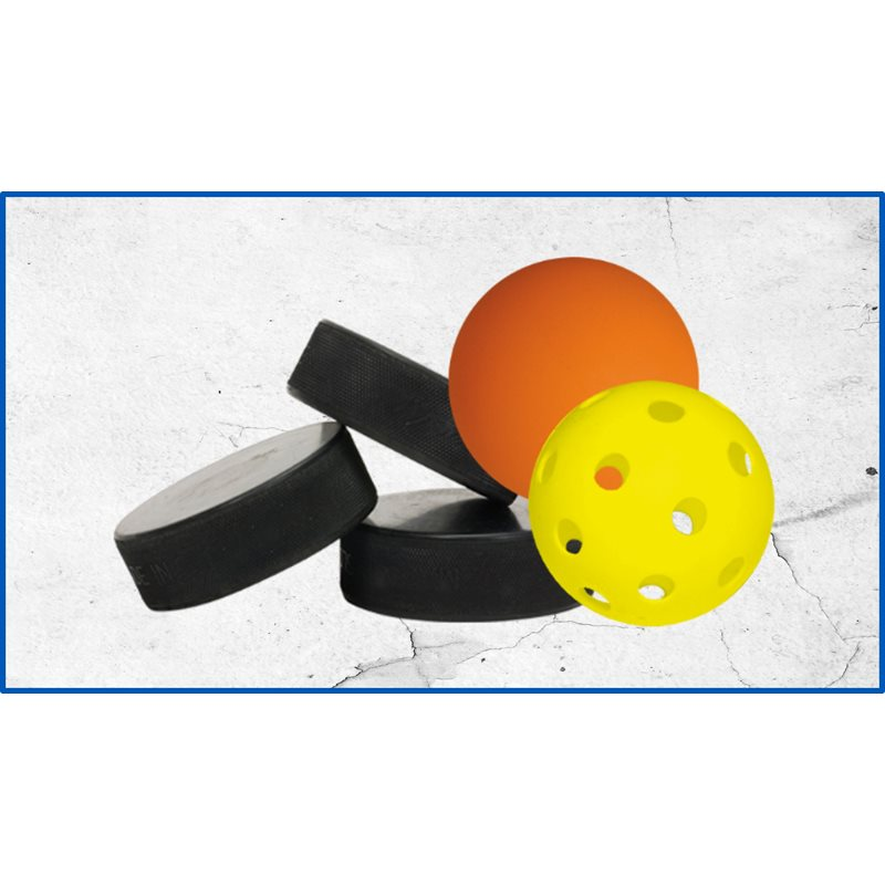 BALLES ET RONDELLES / BALLS AND PUCKS