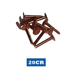 "Rivets de cuivre 1 1 / 4"" / Copper rivets"