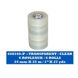 TRANSPARENT Paquet de 6 rouleaux / CLEAR Pack of 6 rolls