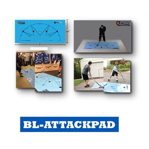 ATTACK PAD - Stickhandling and shooting