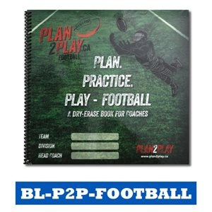 PLAN2PLAY - FOOTBALL COACHING BOOKLET / BOARDS