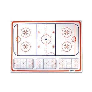 Tableau de hockey rigide / Rigid hockey board